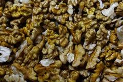 många kernels valnöt royaltyfria foton