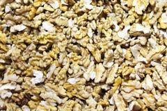 många kernels valnöt royaltyfri foto
