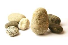 många pebbles Arkivbild