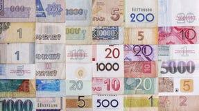 många pengar Arkivbilder