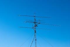 Många radioantenner Royaltyfri Fotografi