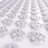 många snowflakes Arkivbild