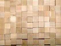 Många stycken av trä är rimliga att slösa bort från den huvudsakliga produkten Royaltyfri Bild