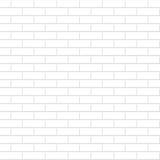 många tegelstentegelstenar gammal texturvägg Seamless bakgrund för vit Arkivbild