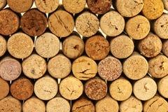 Många wine korkar arkivfoto