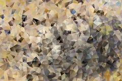 Mångfärgad abstrakt bakgrund för vektor av geometriska trianglar för effekt Royaltyfria Foton