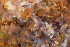 Mångfärgad abstrakt bakgrund för vektor av geometriska trianglar för effekt Arkivfoto