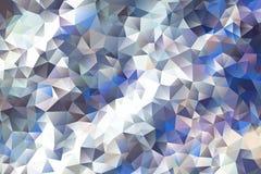 Mångfärgad abstrakt bakgrund för vektor av geometriska trianglar för effekt Fotografering för Bildbyråer