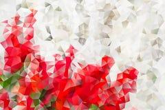 Mångfärgad abstrakt bakgrund för vektor av geometriska trianglar för effekt Royaltyfri Bild