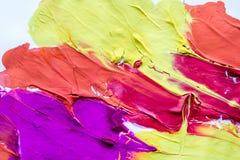 Mångfärgad abstrakt textur med fläckar, utrymme för text eller bild Royaltyfria Foton