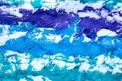Mångfärgad abstrakt textur med fläckar, utrymme för text eller bild Royaltyfri Fotografi