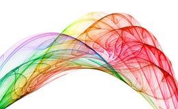 mångfärgad abstraktion vektor illustrationer