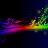 mångfärgad bakgrund Arkivbilder