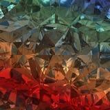 Mångfärgad bakgrund av smyckengemstonen Royaltyfri Bild