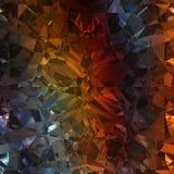 Mångfärgad bakgrund av smyckengemstonen Royaltyfria Bilder