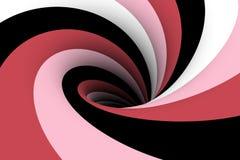 Mångfärgad bakgrund för svart hål royaltyfri illustrationer