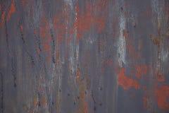 Mångfärgad bakgrund: metallyttersida med målad textur arkivbilder