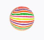 mångfärgad boll Royaltyfri Fotografi