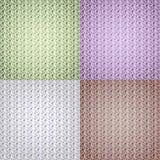 Mångfärgad collage som abstrakt bakgrund i pastellfärgad signal stock illustrationer