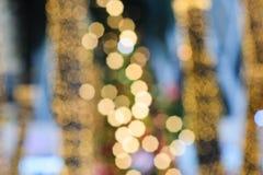 Mångfärgad defocused bokehljusbakgrund royaltyfria foton