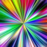 Mångfärgad explosionabstrakt begreppillustration. Fotografering för Bildbyråer
