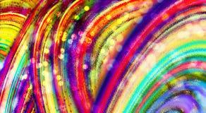 mångfärgad form för abstrakt bakgrund Defocused abstrakt bakgrund för lutning gammal texturvägg för tegelsten Royaltyfri Fotografi