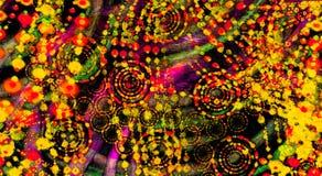 Mångfärgad formbakgrund Defocused bakgrund för lutning gammal texturvägg för tegelsten Royaltyfri Fotografi