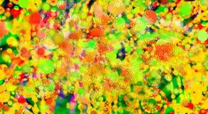 Mångfärgad formbakgrund Defocused bakgrund för lutning gammal texturvägg för tegelsten Arkivbilder