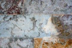 Mångfärgad granitvägg royaltyfri fotografi