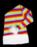 Mångfärgad hatt Arkivfoton