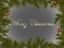 Mångfärgad jul Royaltyfri Bild