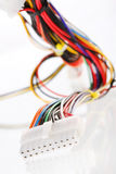 mångfärgad kabeldator Royaltyfri Bild