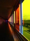 mångfärgad korridor Royaltyfri Foto