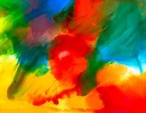 Mångfärgad målarfärgfläck Royaltyfri Foto