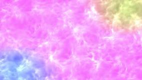 Mångfärgad psykedelisk krabb yttersidarörelsebakgrund