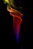 mångfärgad rök Royaltyfri Bild