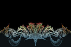 mångfärgad upplösning för hög illustration Royaltyfri Fotografi