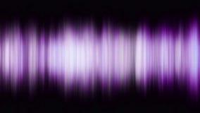 Mångfärgad utjämnare för abstrakt visualizer Rörelsebakgrund med purpurfärgade band royaltyfri illustrationer