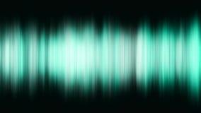 Mångfärgad utjämnare för abstrakt visualizer Rörelsebakgrund med turkosband vektor illustrationer