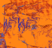 Mångfärgade abstrakt begreppdiagram Royaltyfria Foton