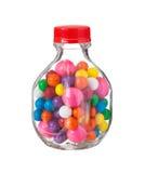 Mångfärgade gumballsbubbelgummar Royaltyfria Foton