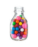 Mångfärgade gumballsbubbelgummar Royaltyfri Bild