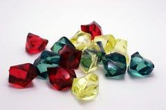 mångfärgade kristaller Royaltyfri Bild