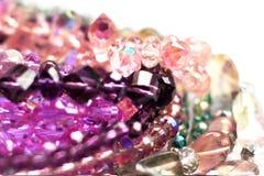 Mångfärgade pärlor Royaltyfria Bilder