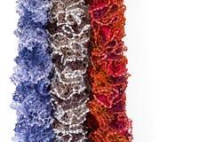 Mångfärgade Scarves Fotografering för Bildbyråer