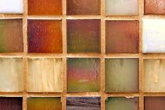 mångfärgade tegelplattor för bakgrund Royaltyfri Foto