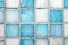 mångfärgade tegelplattor för bakgrund Arkivbilder