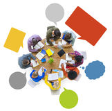 Mångfaldformgivare Team Brainstorming Meeting Working Concept Arkivfoton