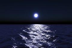 månsken Arkivbild