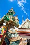 Måttjätte på templet av gryning Royaltyfri Fotografi